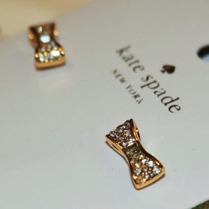 "Kate Spade Bow Earrings ""Ready Set Bow"""